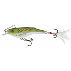 Salmo Rail Shad Sinking 6,0cm - HGS / Holographic Green Shiner