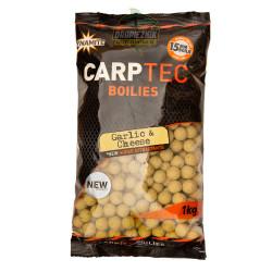Kulki Dynamite Baits Carp Tec 1kg - 15mm Galic & Cheese // Czosnek & Ser
