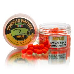 Waftersy MEUS Dumbells Wafters na włos 8mm - Czekolada & Pomarańcza