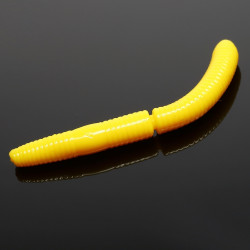 Libra Lures Fatty D'Worm 6.5cm - 007 / YELLOW