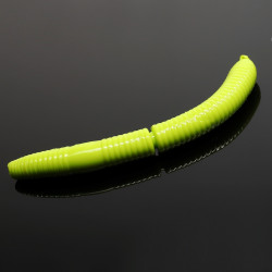 Libra Lures Fatty D'Worm 6.5cm - 027 / APPLE GREEN