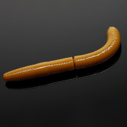 Libra Lures Fatty D'Worm 6.5cm - 036 / COFFEE MILK