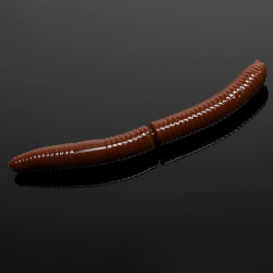 Libra Lures Fatty D'Worm 6.5cm - 038 / BROWN