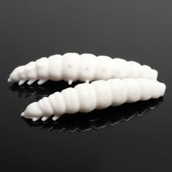 Libra Lures Larva 4.5cm - 001 / WHITE