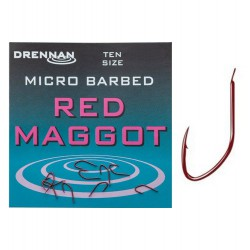 Haczyki Drennan Red Maggot