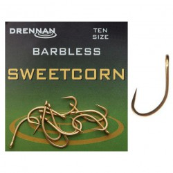 Haczyki Drennan Sweetcorn Barbless