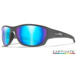 Okulary Wiley X Captivate - CLIMB Polaraized Blue Mirror