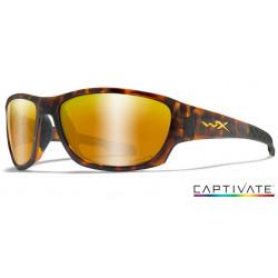 Okulary Wiley X Captivate - CLIMB Polaraized Bronze Mirror