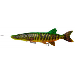 Savage Gear 4D Line Thru Pike 37cm - Fire Tiger /SERIA LIMITOWNA/
