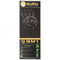 "Przypony Guru Standard Hair Rigs - QM1 - 4""/10cm - roz.12 // 0.22mm"