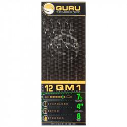 "Przypony Guru Standard Hair Rigs - QM1 - 4""/10cm - roz.12 // 0.19mm"
