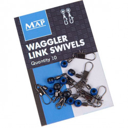 System mocowania wagglera MAP Waggler Link Swivels