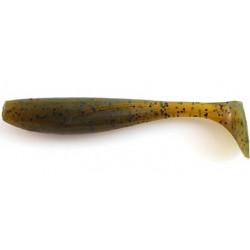 "FishUp Wizzle Shad 1.4"" - 074 Green Pumpkin Seed"