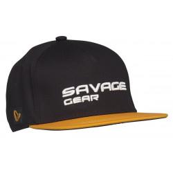 Czapka z daszkiem Savage Gear Flat Peak 3D Logo Cap - 73713