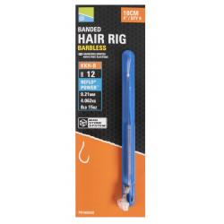 """Przypony Preston KKH-B Mag Store Hair Rigs - 4"""" / BANDED"""
