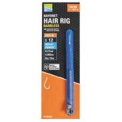 """Przypony Preston KKH-B Mag Store Hair Rigs - 4"""" / BAYONET /"""