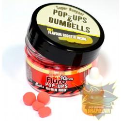 Fluoro Pop-Ups 10mm - Robin Red