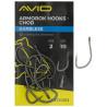 Haczyki AVID Armorok Hooks - CHOD / BARBLESS