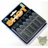Ołów Preston Super Soft Shot 6 dozowników - Micro