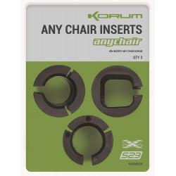 Adaptery Korum Anychair Inserts K0300020