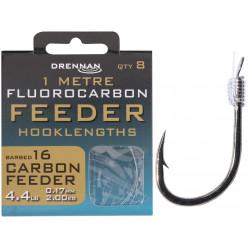 Przypony Drennan Fluorocarbon Feeder 1m - CARBON FEEDER - roz.16