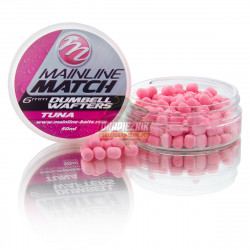 Mainline Match Dumbell Wafters 6mm - Pink-Tuna