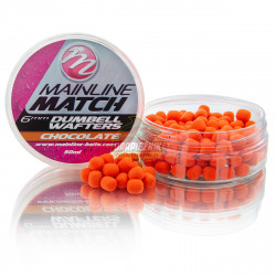 Mainline Match Dumbell Wafters 6mm - Orange-Chocolate