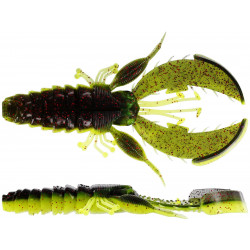 Westin CreCraw Creature 6,5cm - Black/Chartreuse