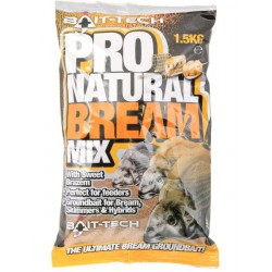 Zanęta Bait-Tech 1.5kg Pro Natural Bream Groundbait