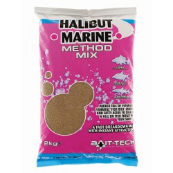 Zanęta Bait-Tech 2kg Halibut Marine Method-Mix