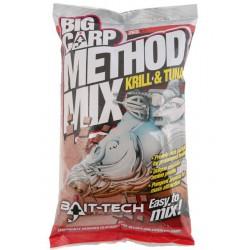 Zanęta Bait-Tech 2kg Big Carp Method Mix Krill and Tune