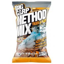 Zanęta Bait-Tech 2kg Big Carp Method Mix Tiger and Peanut