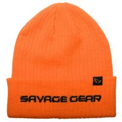 Czapka Savage Gear Fold-Up Beanie - Sun Orange 73742