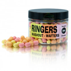 Ringers Chocolate Washout Wafters - 6mm Bandems