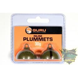 Gruntomierze Guru Inline Plummets - 30g