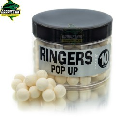 Kulki Ringers Pop-Up Shellfish - White 10mm