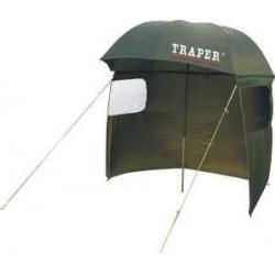 Parasol Traper 250cm - z tylną ścianką