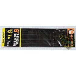 Przypony Guru X-Strong Ready Rigs 15cm