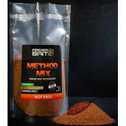 Zanęta Feeder Bait Method Mix 800g - Hot Krill - Pikantna