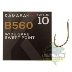 Haczyki Kamasan B560 Barbed Spade - roz. 10