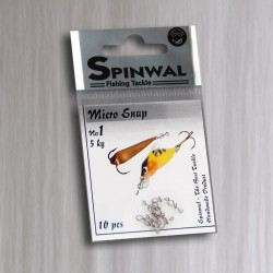 Zapinki Spinwal - Micro Snap no 1